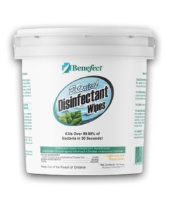 Benefect Botanical Disinfectant Wipes - 250 Count