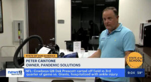 Pandemic Solutions on News 12 Westchester